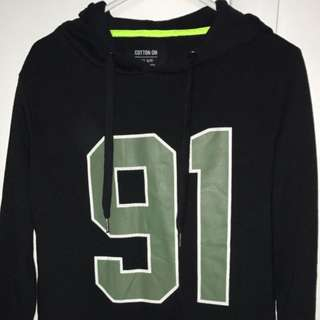 91 Hoodie From Cotton On