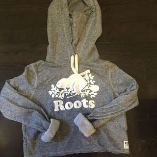 ROOTS CROPPED HOODIE XS