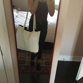 White ASOS Tote Bag