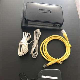 Netgear DGN2200 N300 Wireless ADSL2+ Modem Router