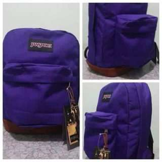 Jansport Bag Classic Leather Buttom