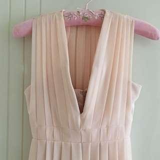 Sheik Cream Evening Gown