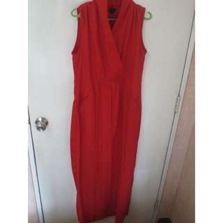 Studio 8 Red Dress