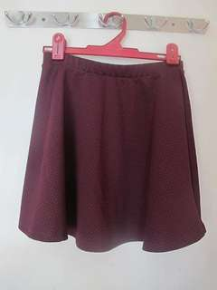 F21 Skirt - Plum