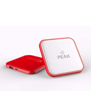 Ultra Slim Thin Mini Size Power Bank 2600mah Red