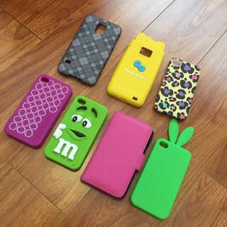 Assorted Phone cases/covers
