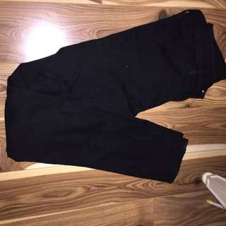 H&M Regular Black Jeans