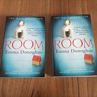 Room - Emma Donoghue (2 Copies)