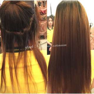 pure human hair extension