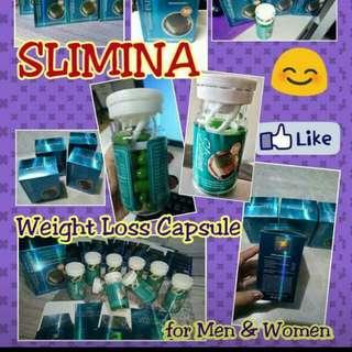 Slimina Slimming Capsules For Men And Women.