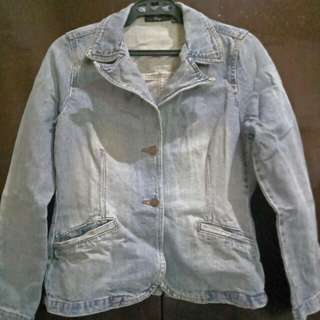 Bayo Denim Blazer
