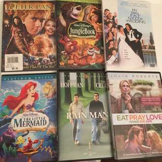 Great Movies DVDs