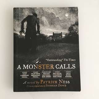 A Monster Calls (Illustrated Paperback Edition) by Patrick Ness