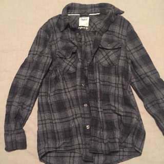 TNA Flannel Top
