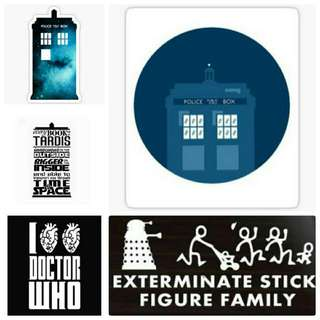 Doctor Who Stickers And Pictures