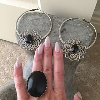 Samantha Wills Earrings And Ring