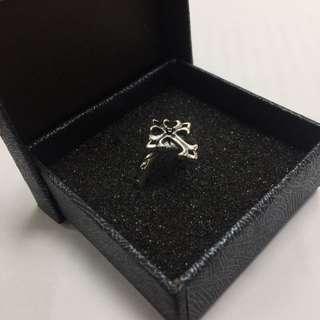 (降價)(全新)黑鎬石純銀戒指