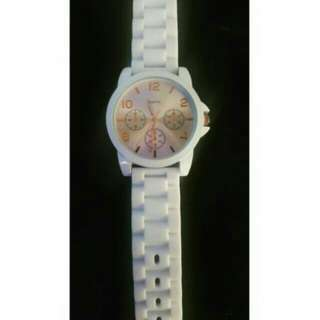 Aeropostal Casual White Watch