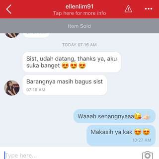 Mood Boosternya seller 😊😊