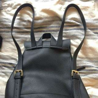 Brand new faux leather backpack