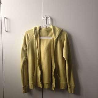 UNIQLO Lime Sweatshirt/Hoodie
