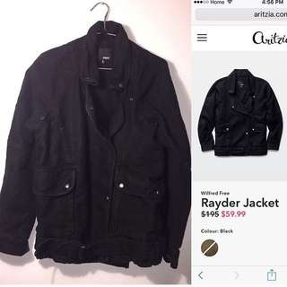 REDUCED PRICE! Aritzia Wilfred Free Rayder Jacket