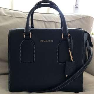Authentic- Michael Kors Selby Medium Satchel/ Handbag