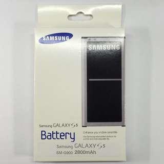 100% 原裝三星 Samsung Galaxy S5 手機電池 S5 G9006/V G9009/D G9008/V G900F I9600 Battery原廠充電池