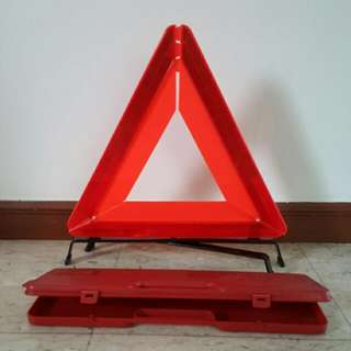Safety Triangle Warning Sign