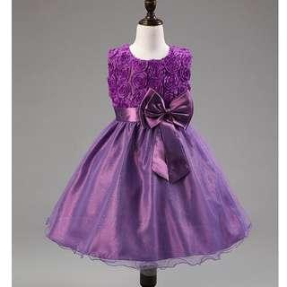 591e4abcac Kids   Baby Gaun Dresses - XCR XXXR Purple