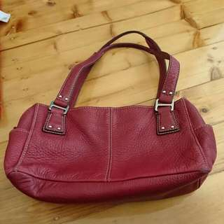 Fossil Burgundy Bag