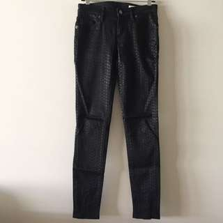 Sass & Bide Future Of Now Geometric Jeans In Black