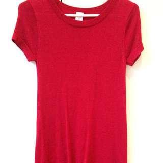 Pink Short Dress/Long Top