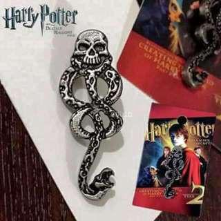HARRY POTTER AND THE DEATHLY HALLOWS DEATH EATER'S MARK PIN