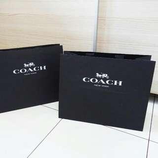 Coach Original Paperbag Branded Paper Bag