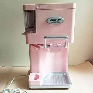 Cuisinart pink soft serve ice cream maker