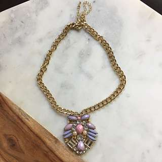 Pink Statement Pendant