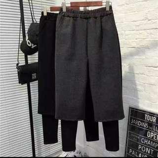 正韓二件式褲款