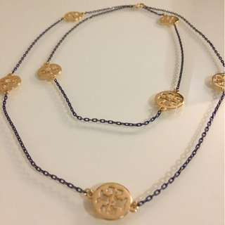 Tory Burch inspired long necklace