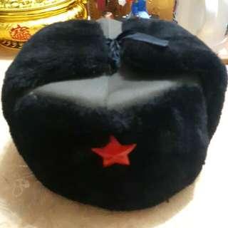 蘇聯紅星雪帽