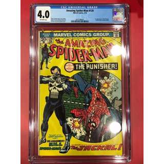 CGC 4.0 Amazing Spider-man #129 1st Appearance of Punisher