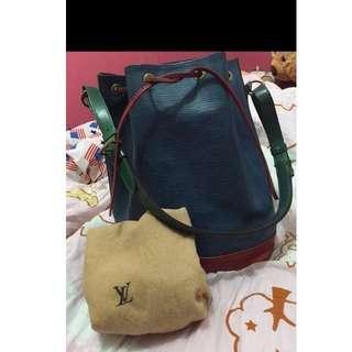 Louis Vuitton Large Epi Noe Bucket Bag