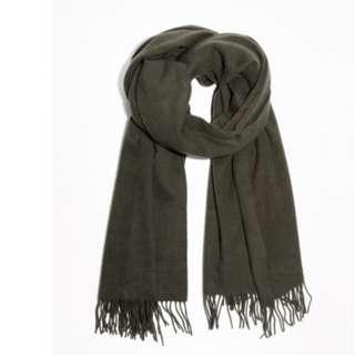 Winter scarf from Mango