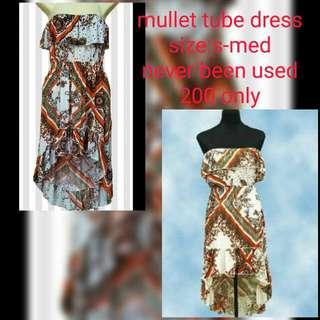 Mullet Tube Dress