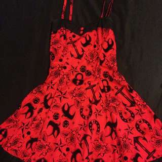 Hell Bunny Red Dress