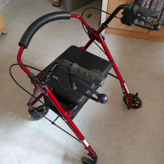 Mobility Walker (with Seat & storage)