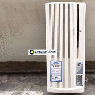 Window Casement Aircon Units !! Sanyo , Carrier , Mitsubishi Available