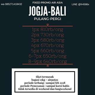 Promo Bali Air Asia PP