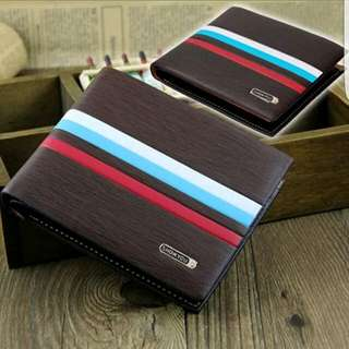 NEW MENS LEATHER WALLET $14.95+ FREE POSTAGE