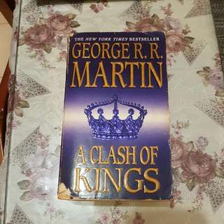 Clash Of Kings By George RR Martin